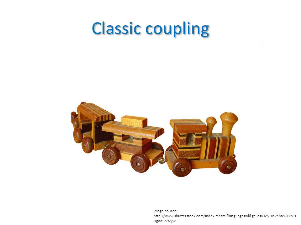 Classic coupling Image source: http://www.shutterstock.com/index.mhtml language=nl&gclid=CMyHicvhhasCFUyH DgodCh9Zyw
