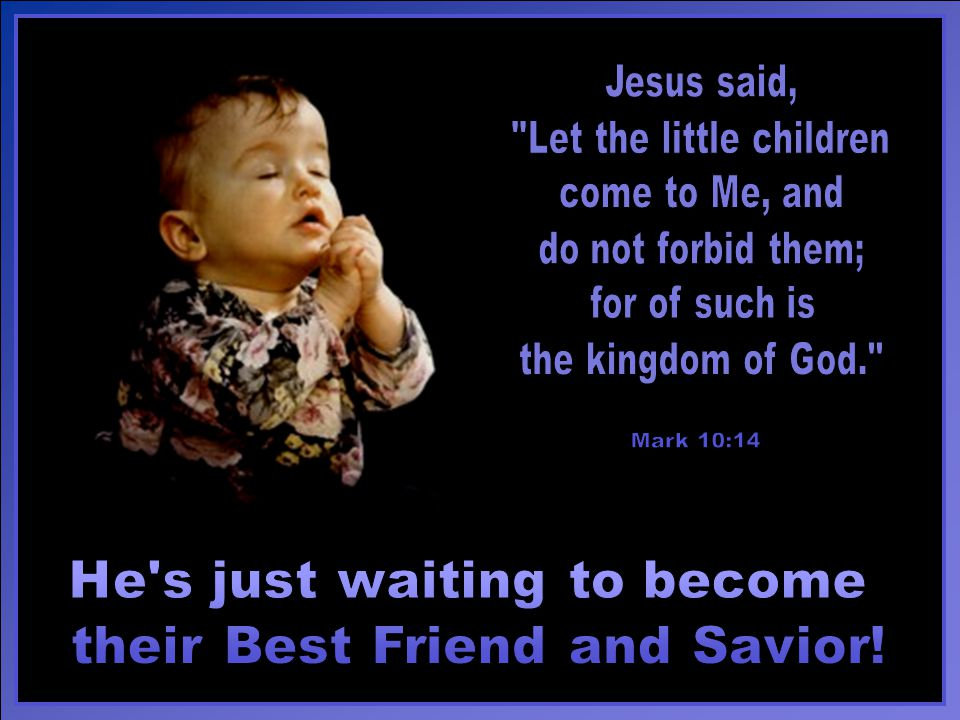 It s simple to teach your young children about Jesus.