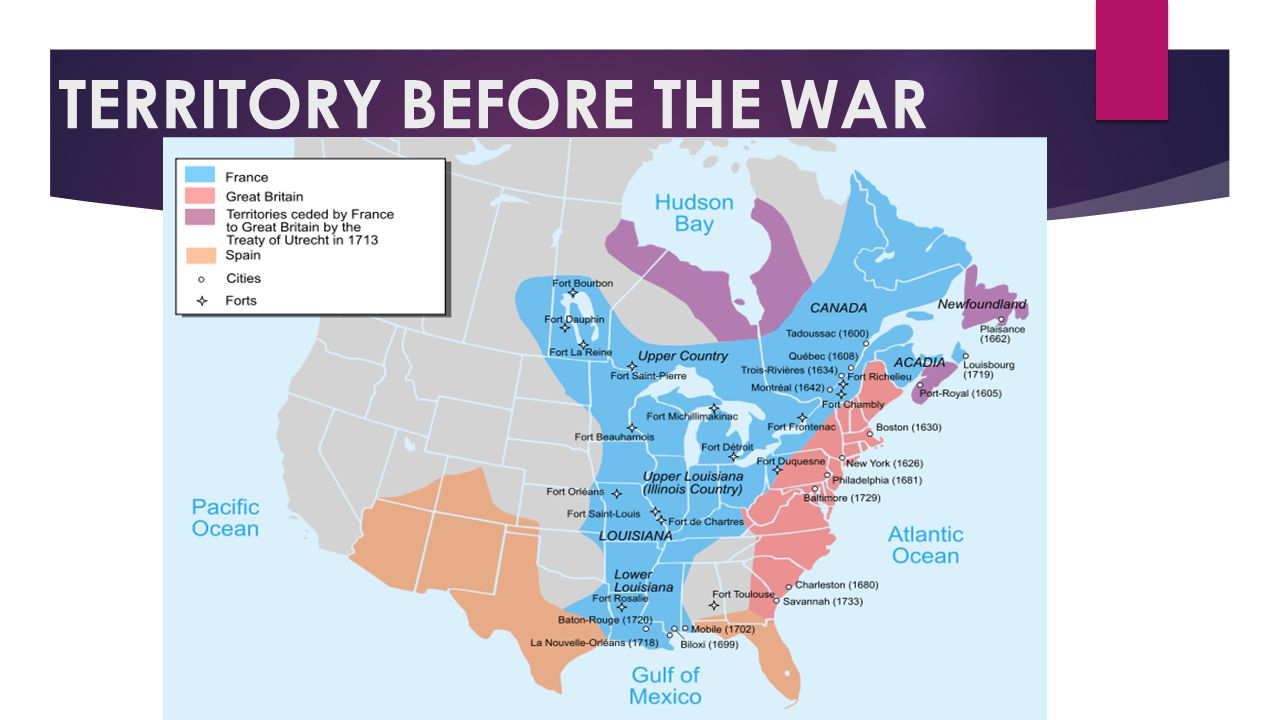 Important Vocabulary  Treaty of Paris: Stated that England got all of north America east of the Mississippi River…..except New Orleans.