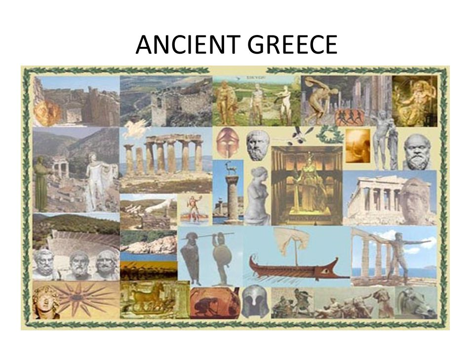 ΑNCIENT GREECE