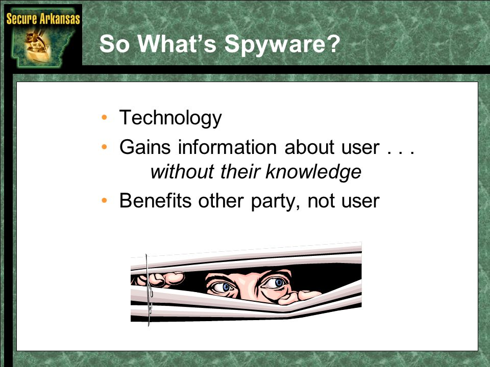 Spyware Can...
