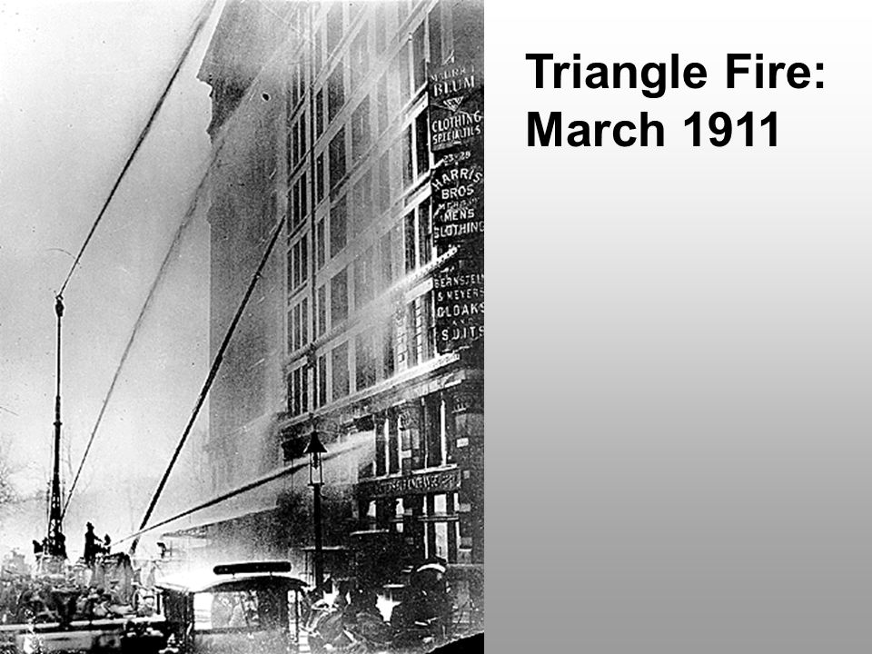 Triangle Fire: March 1911