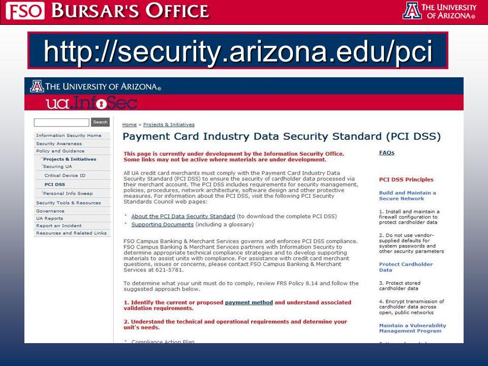 http://security.arizona.edu/pci