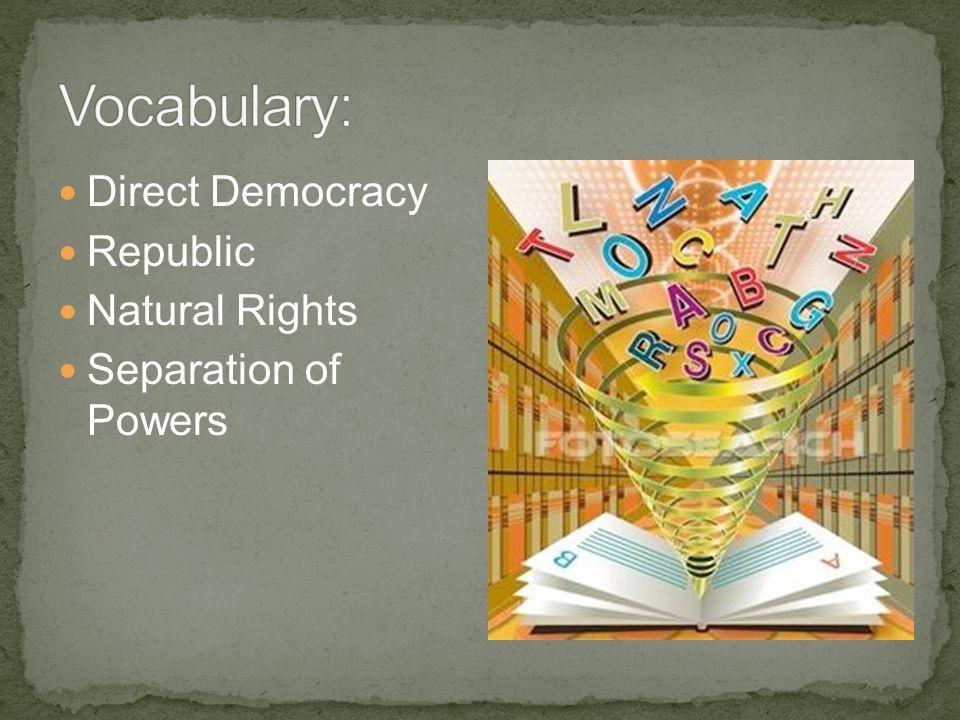 Representative government Government exists for the people, not people for the government