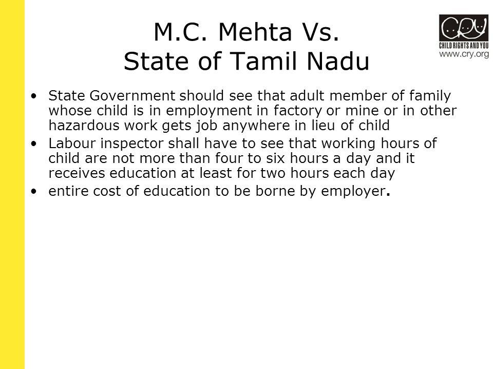 M.C. Mehta Vs.
