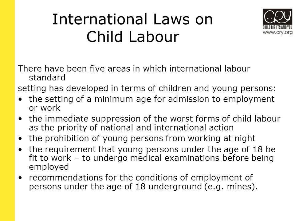 ILO: Effective abolition of child labour Minimum Age Convention, 1973 –Art.