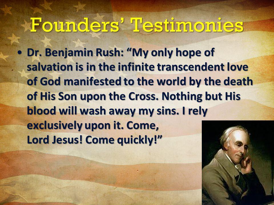 Founders' Testimonies Dr.