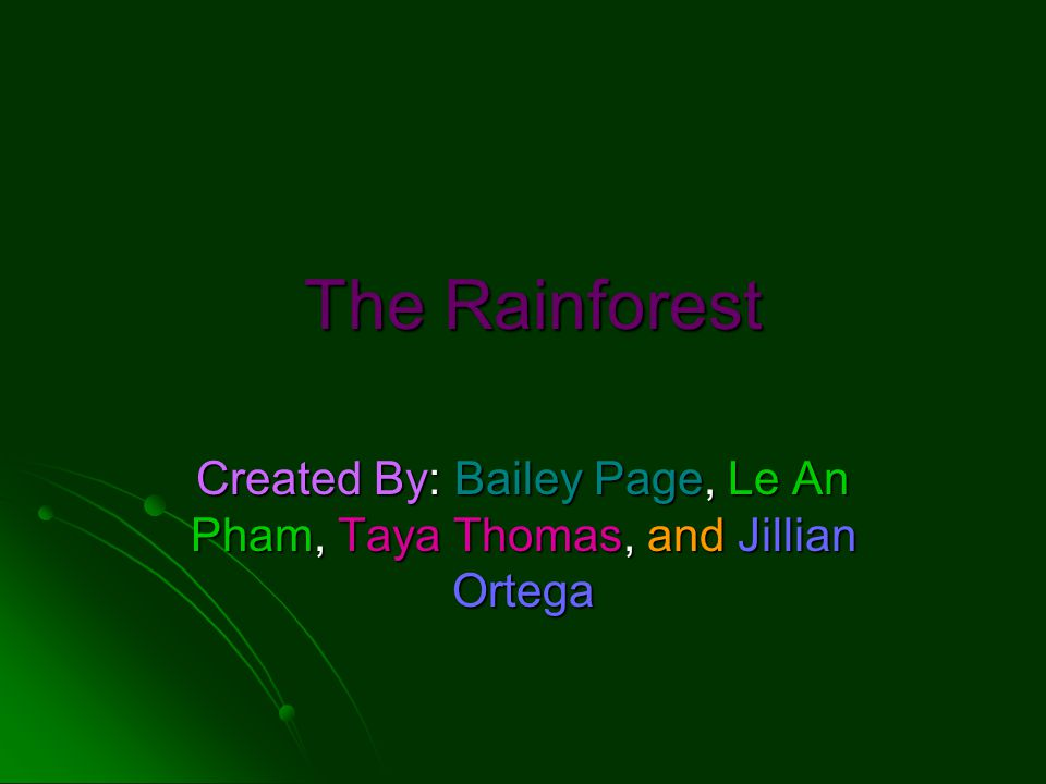 Rainforest Areas On continents of Asia, Africa, Australia, South America, and North America On continents of Asia, Africa, Australia, South America, and North America Covers less than 6% of earth land surface Covers less than 6% of earth land surface No more rainforests in Europe No more rainforests in Europe