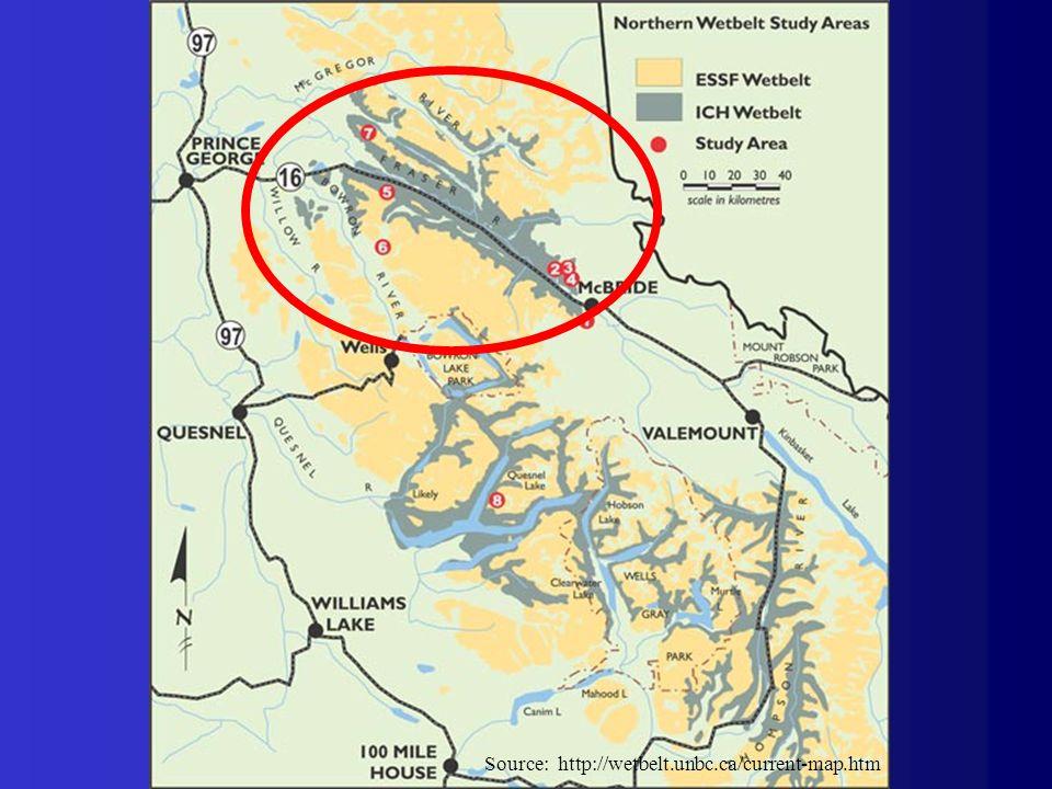 Source: http://wetbelt.unbc.ca/current-map.htm
