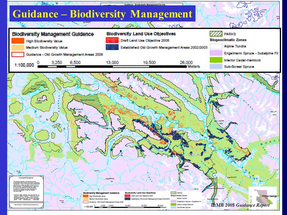 Guidance – Biodiversity Management ILMB 2008 Guidance Report