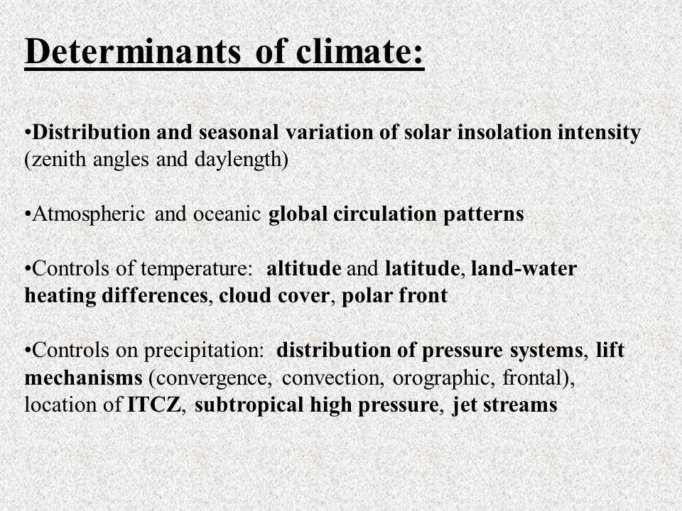 Tropical Savanna Distribution