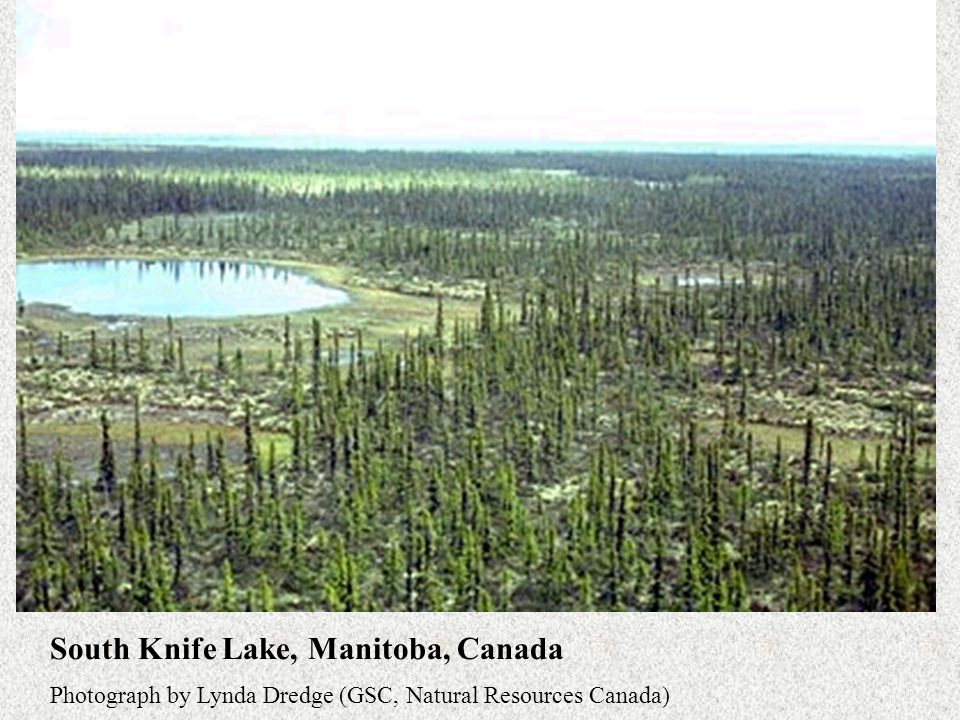 South Knife Lake, Manitoba, Canada Photograph by Lynda Dredge (GSC, Natural Resources Canada)