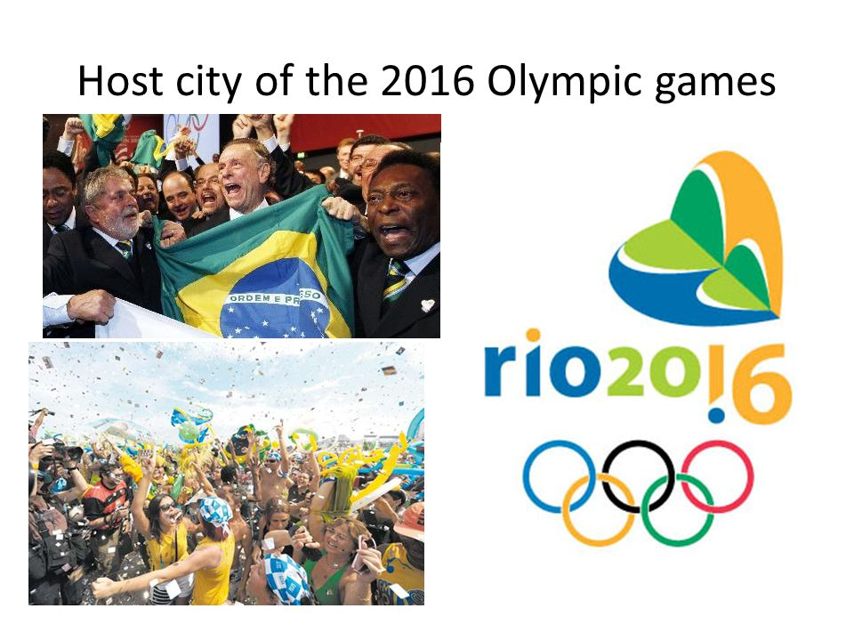 Host city of the 2016 Olympic games