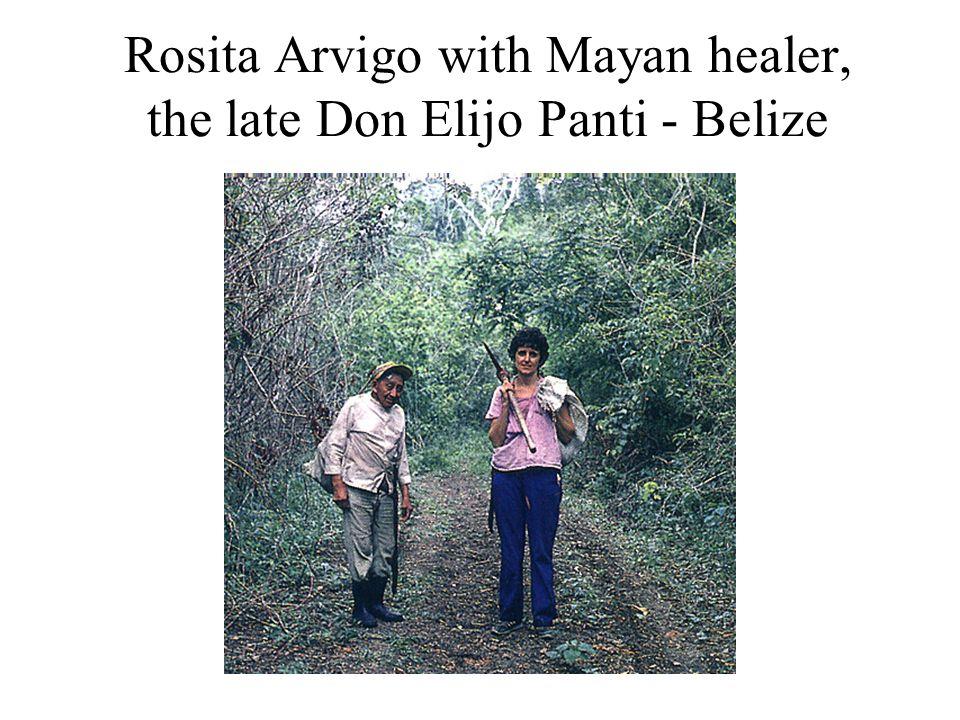 Rosita Arvigo with Mayan healer, the late Don Elijo Panti - Belize