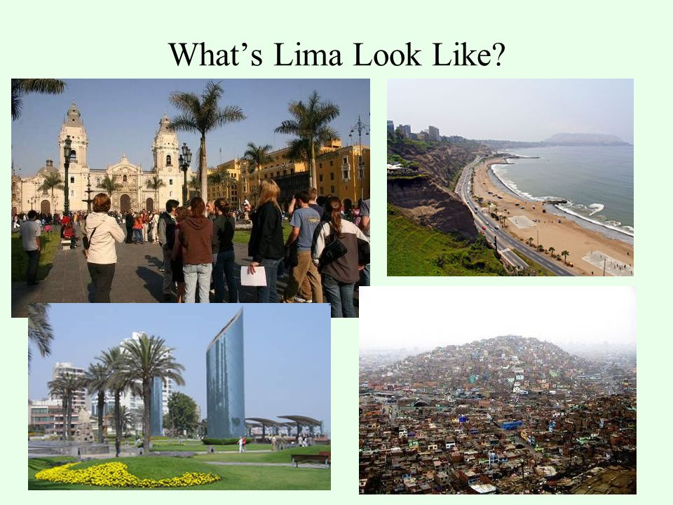What's Lima Look Like