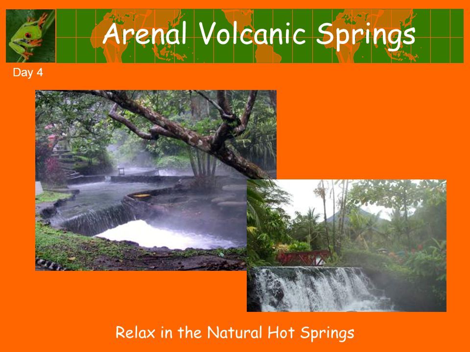 Arenal Volcanic Springs Day 4 Relax in the Natural Hot Springs