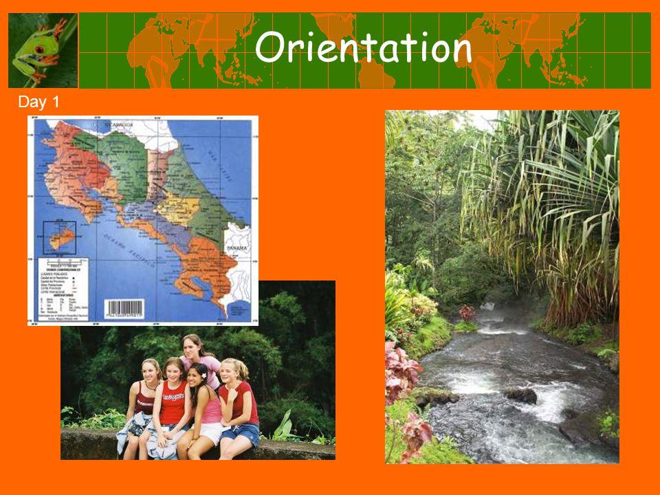 Orientation Day 1