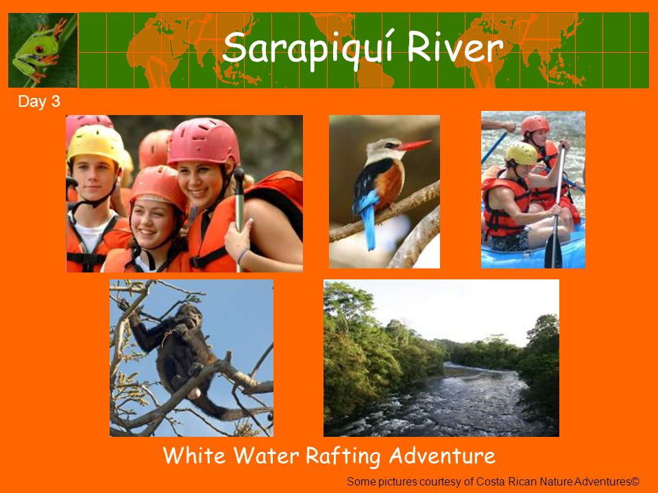 Sarapiquí River Day 3 White Water Rafting Adventure Some pictures courtesy of Costa Rican Nature Adventures©