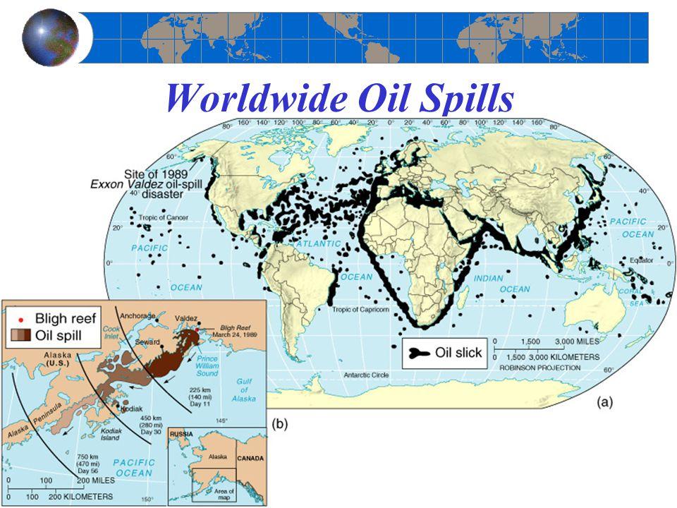 Worldwide Oil Spills