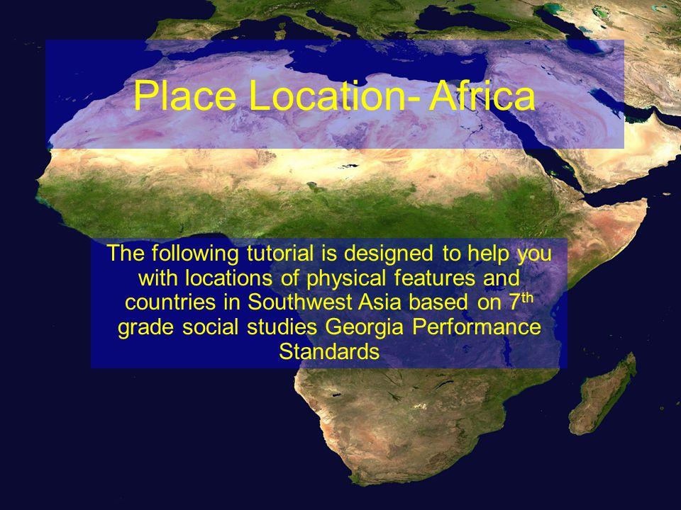 Democratic Republic of the Congo Kenya Sudan Nigeria South Africa Egypt Next Slide 3