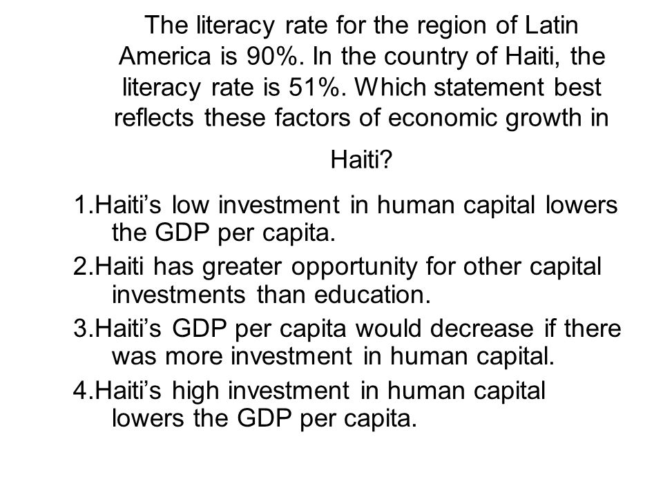 The literacy rate for the region of Latin America is 90%.