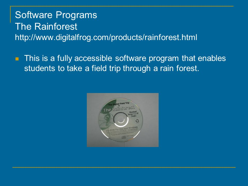 Software Programs Interactive Skeleton http://www.primalpictures.com/Interactive_Skeleton.aspx This is a relatively sophisticated software written for first year medical students.