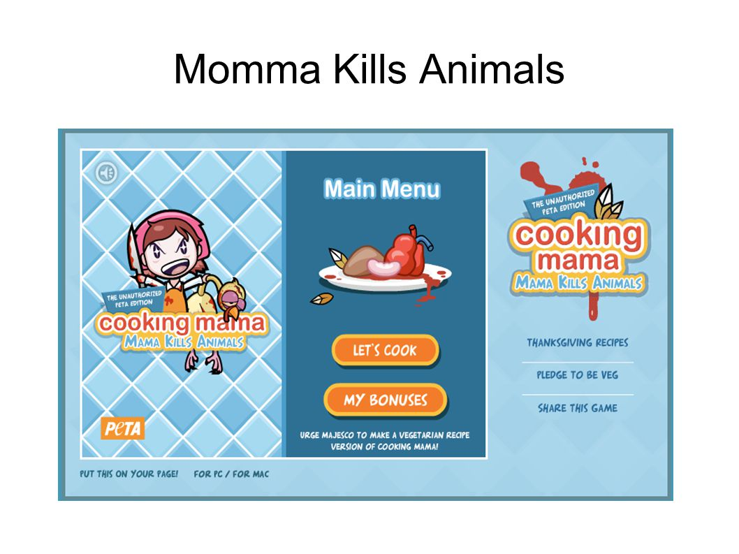 Momma Kills Animals