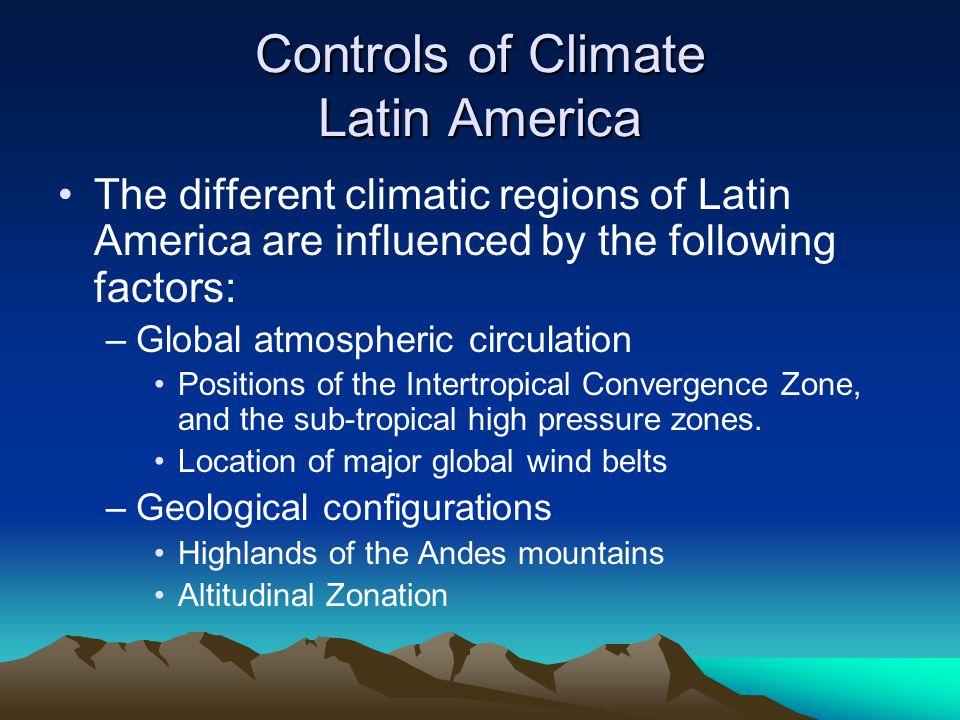 Global Atmospheric Circulation Rising air at the equator allows for an abundance of precipitation year round.