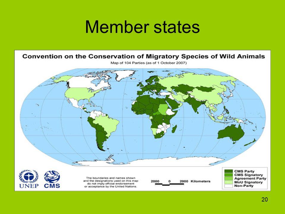 Member states 20