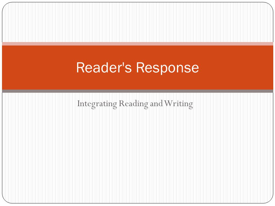 Response Journals - Materials Materials in creating a reading response journal: Assigned or chosen text: literature or informational, paper or online, emagazines such as Time for Kids, eNational Geographic for Kids Notebook, ejournal, graphic organizer, paper Sticky notes, Word highlighting function