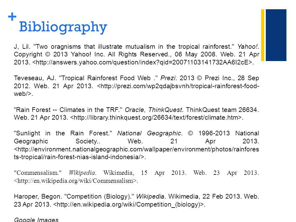 + Bibliography J, Lil.