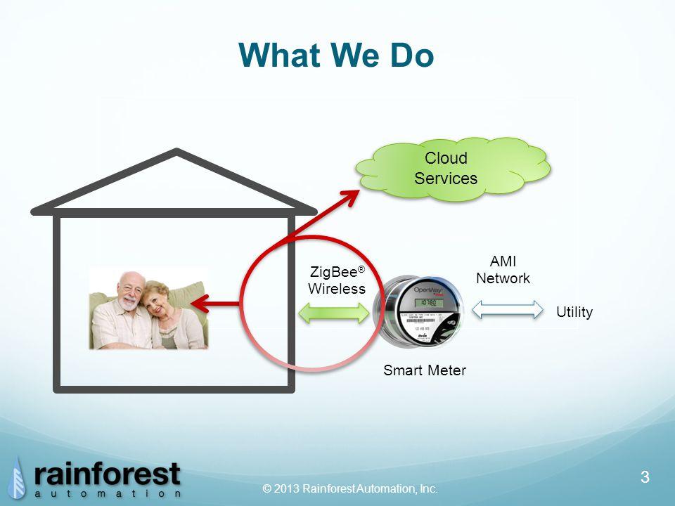 © 2013 Rainforest Automation, Inc.4 ●Simple Just turn it on.