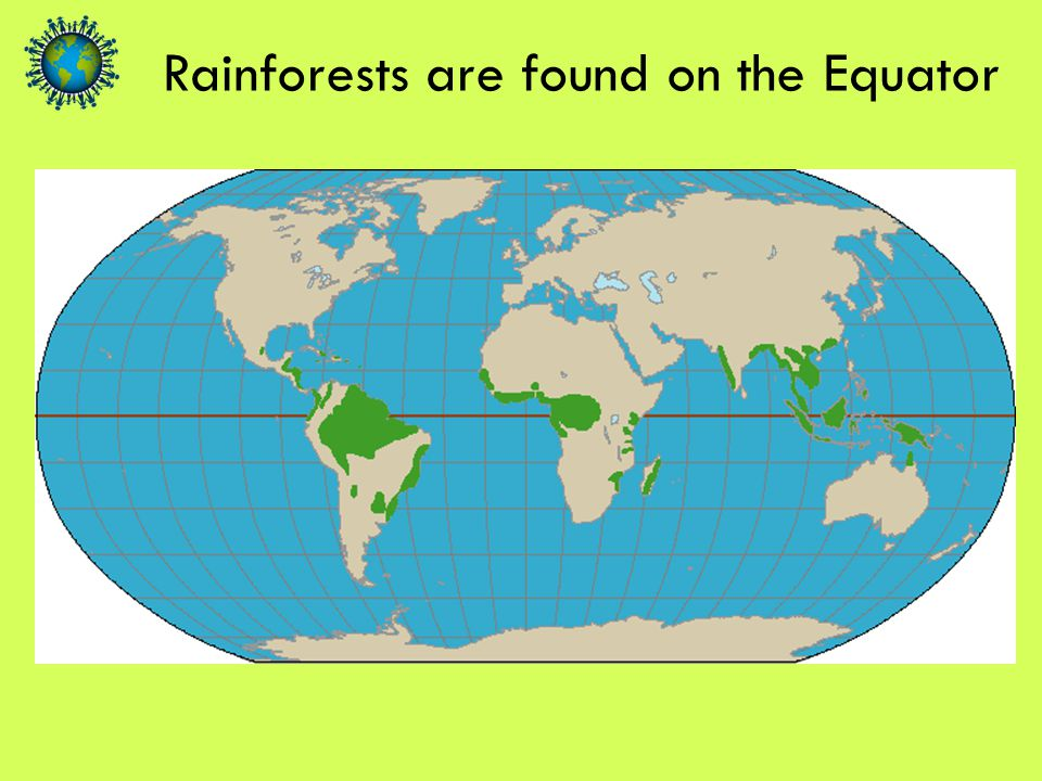 Practical demonstration of how rain forms over rainforest