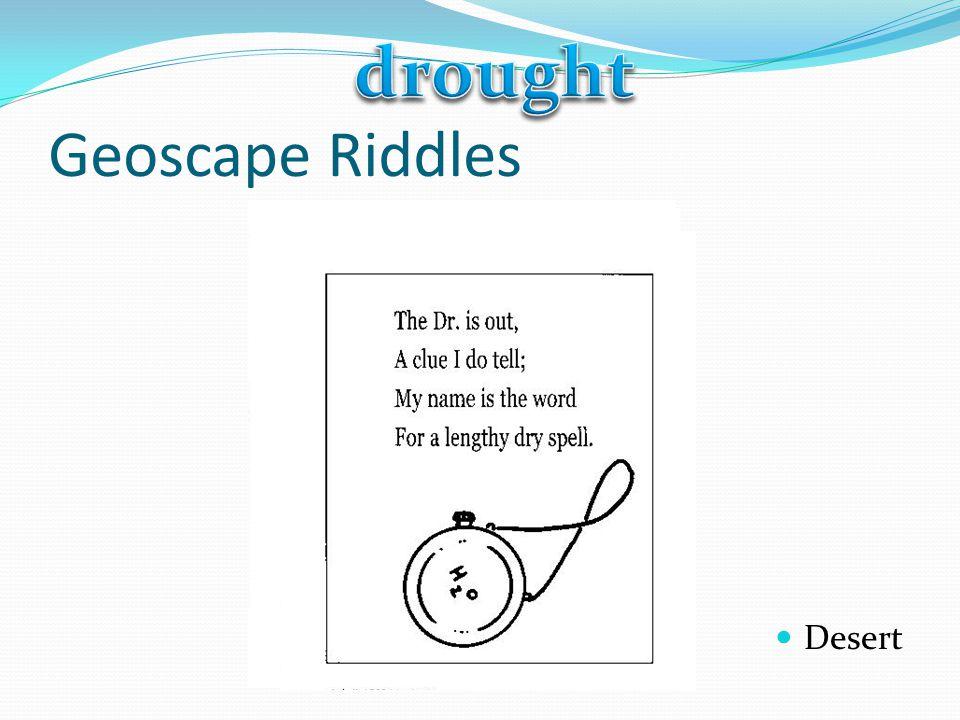 Geoscape Riddles Desert