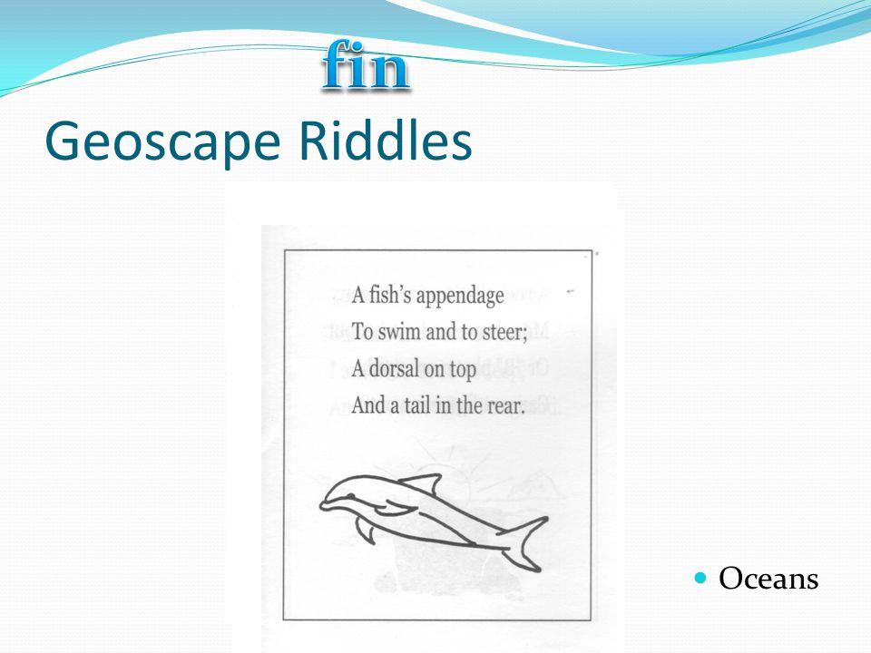 Geoscape Riddles Oceans