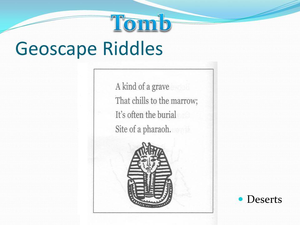 Geoscape Riddles Deserts