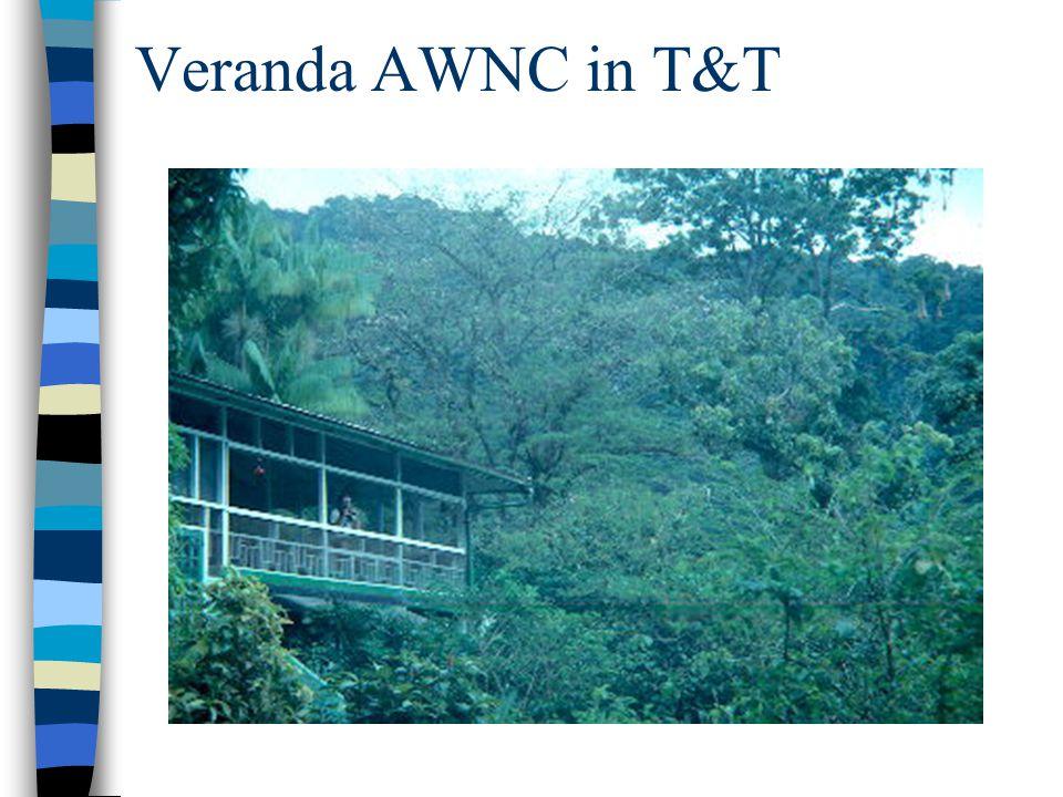 Veranda AWNC in T&T
