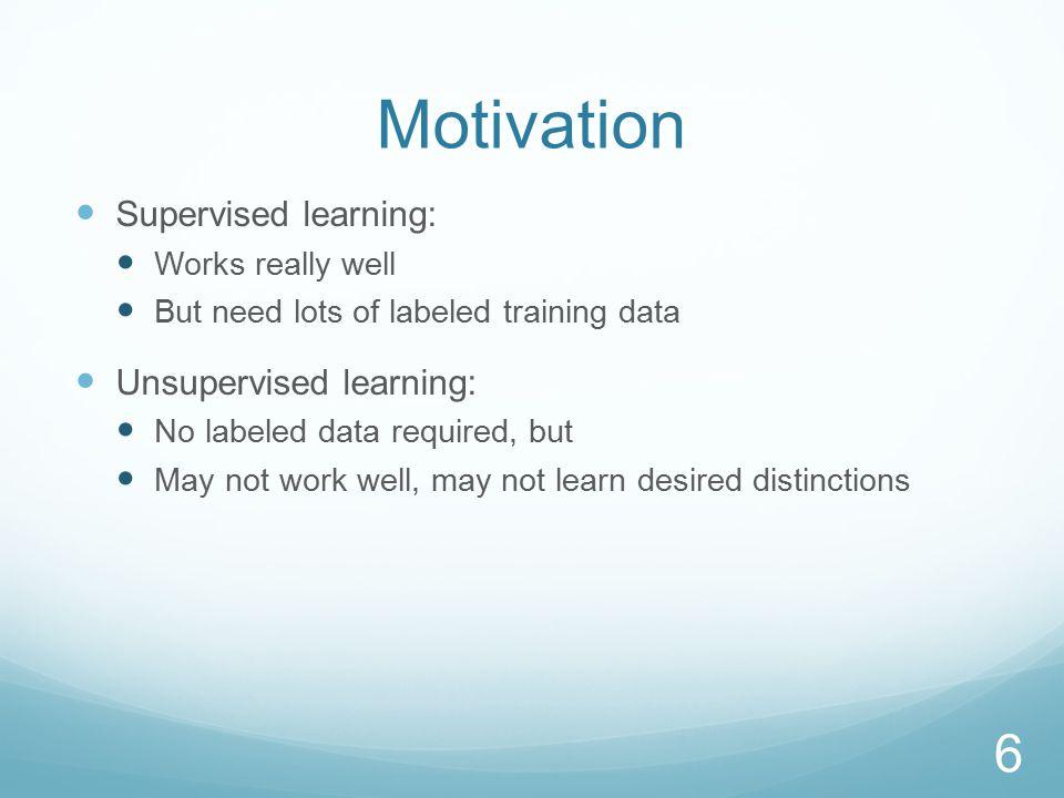 Learning Curves: Semi-supervised vs Supervised 57