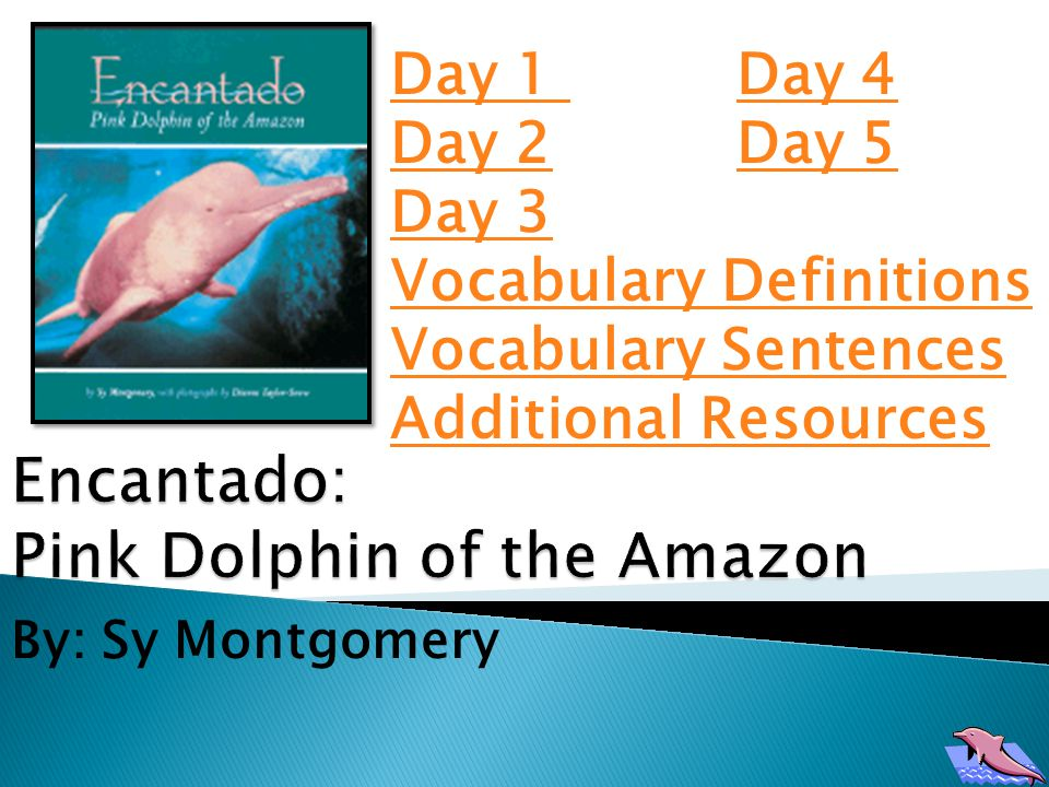 Encantado means enchanted in Portuguese and in Spanish.