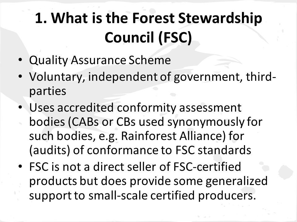 FSC, the best certification system for First Nations Application of free and informed consent by Indigenous Peoples is in Criterion 3.1.