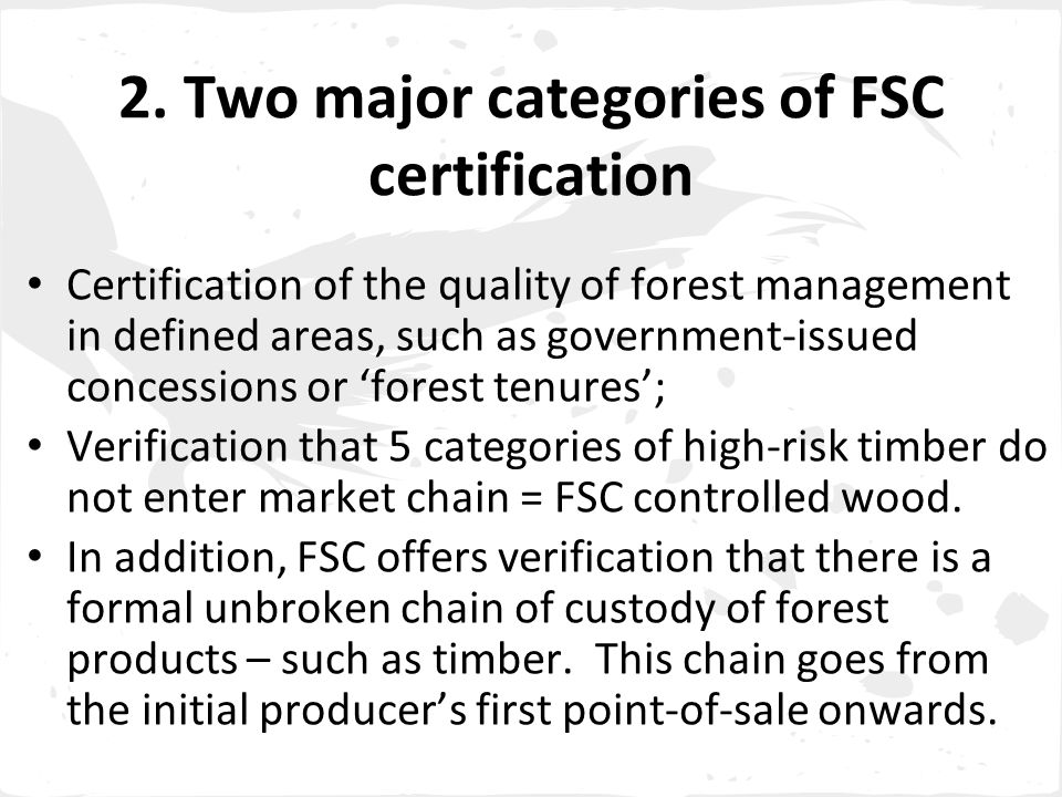 Right to FPIC in the FSC system - 4 4.