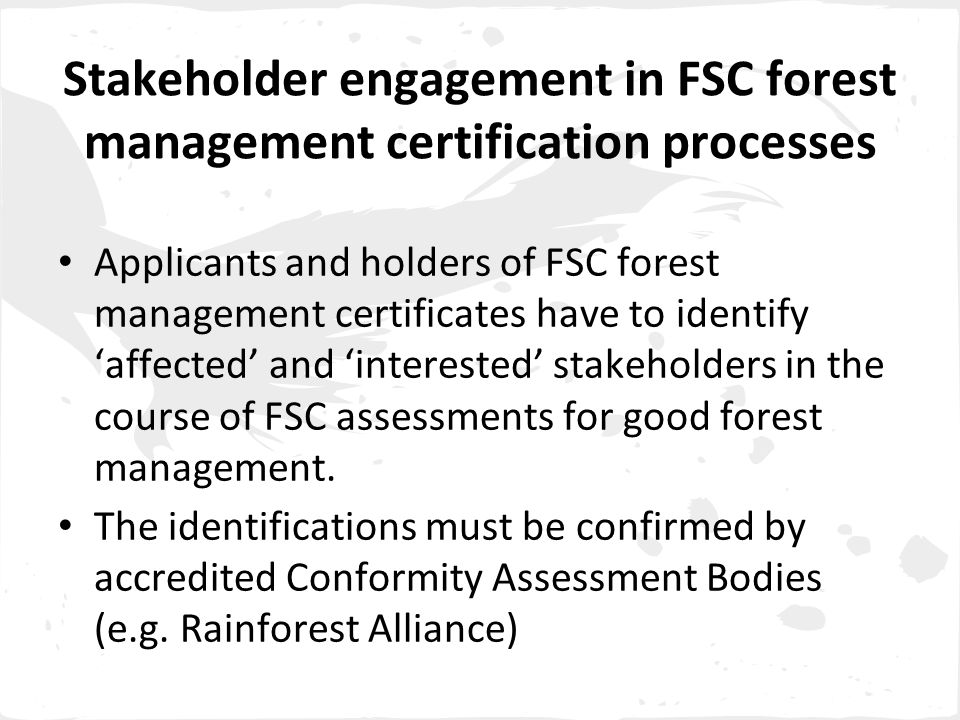 The five 'unacceptable sources' for FSC Controlled Wood categories are: 1.