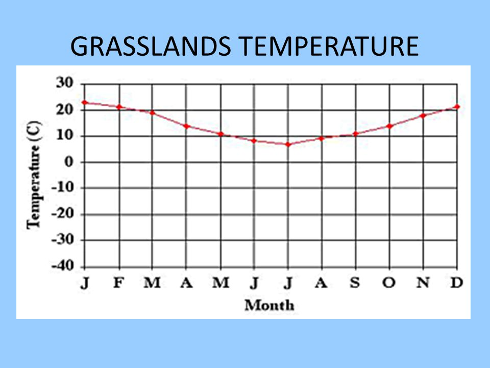 GRASSLANDS TEMPERATURE