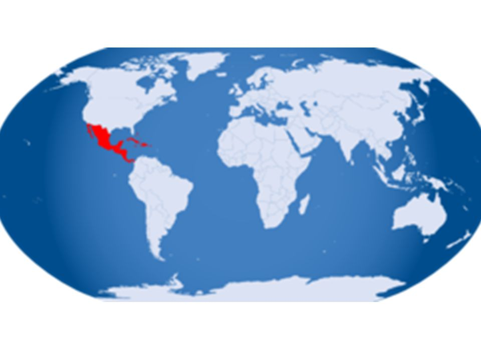 Physical Features of Central America Proximity (closeness) to the equator – Low latitudes: 5 ° N-25 °N – Temperture: VERY HOT Proximity (closeness) to the ocean