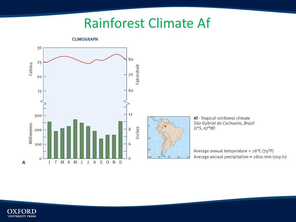 Rainforest Climate Af