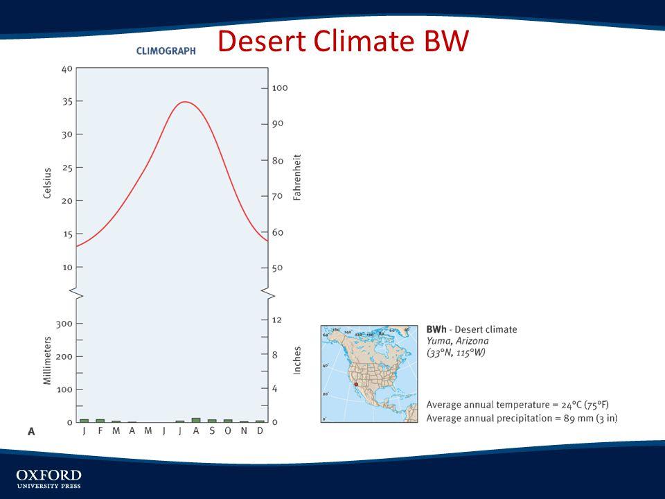 Desert Climate BW