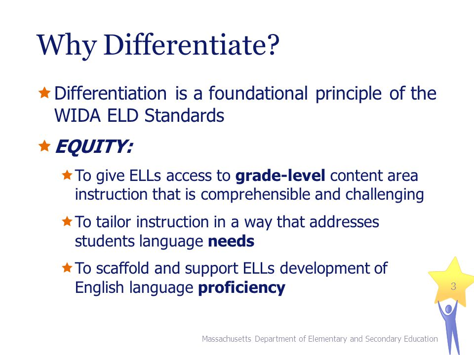 What do we Differentiate.