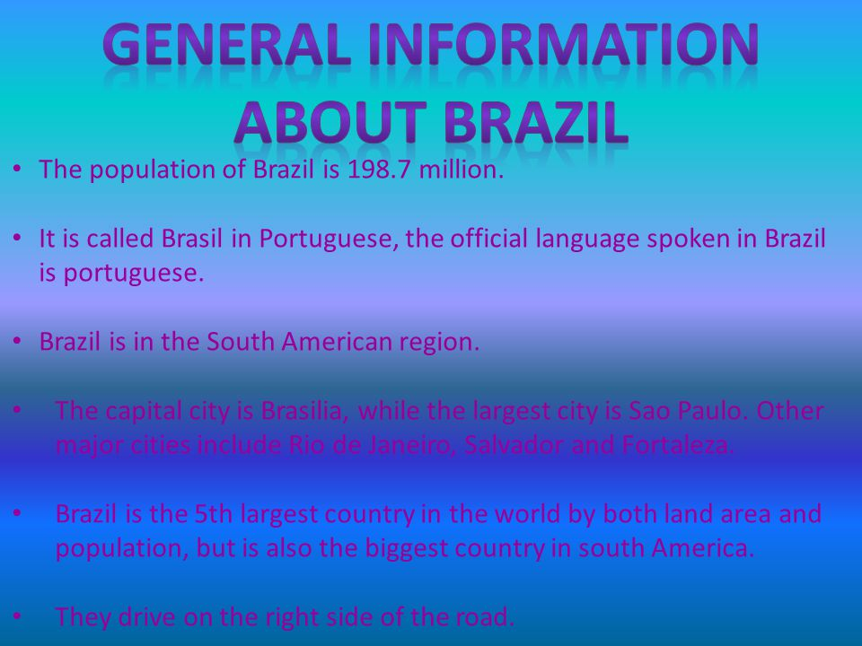 The population of Brazil is 198.7 million.