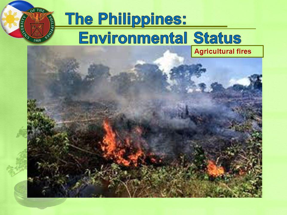 Agricultural fires