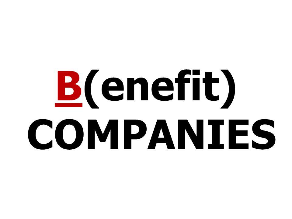 B(enefit) COMPANIES
